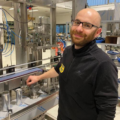 David Mario Aluffo Technician